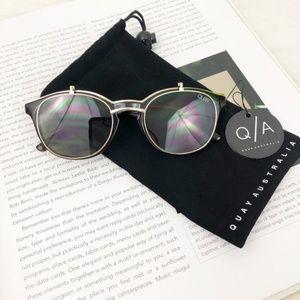 Quay Australia Penny Royal Tortoise Sunglasses